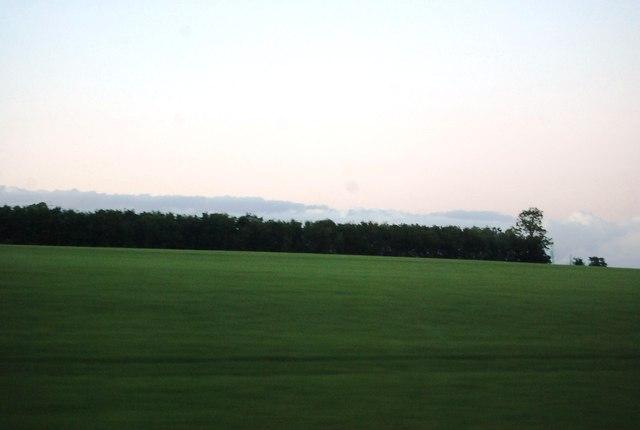 Farmland by the M40