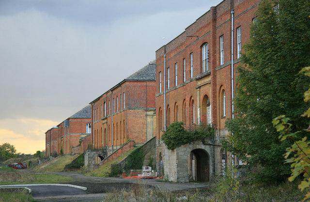 Former ordnance depot - Weedon Bec