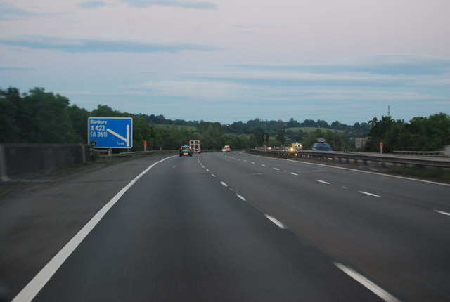 M40 - approaching Junction 11