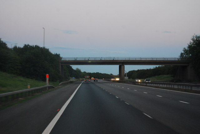 M40 - Junction 11 overbridge