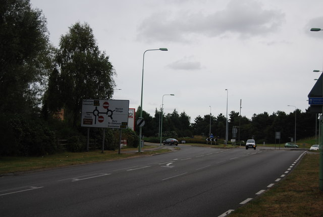 A1189 near Ransomes Europark