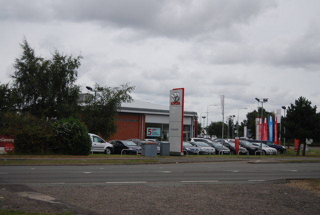 Toyota dealership, Ransomes Europark