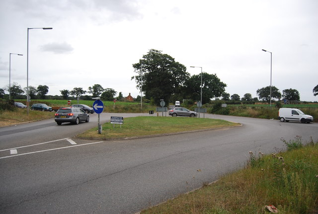 The end of the A1189