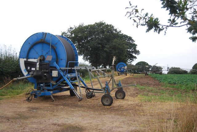 Irrigation equipment by Nacton Rd