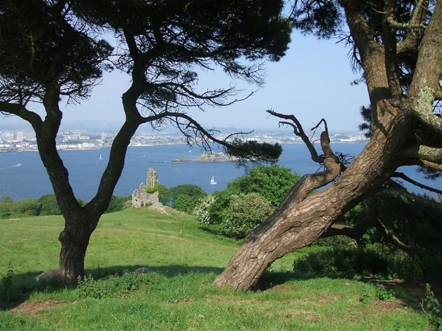 The Folly overlooking Plymouth Sound