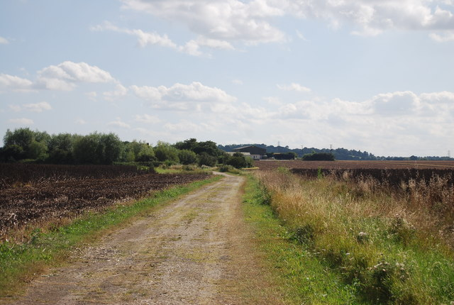Track to South Fambridge Hall