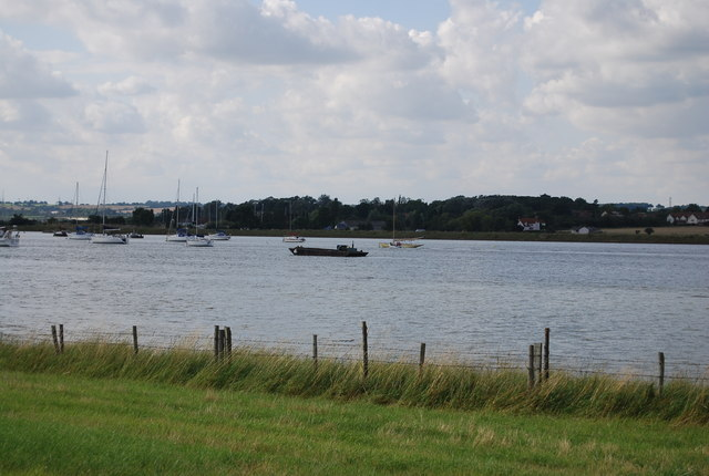 Boats on the River Crouch