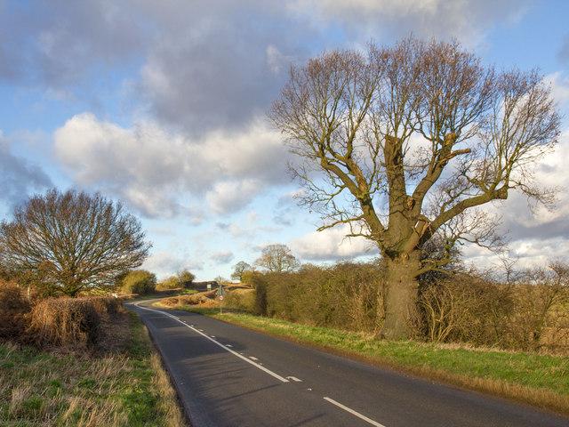 B4088 near Ridgeway Farm