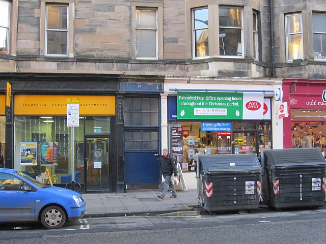 Post Office, Bruntsfield Place