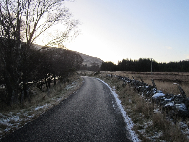 Road in Glen Isla