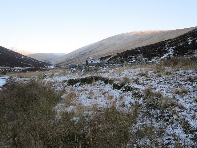 Shieling ruin, Glen Cally