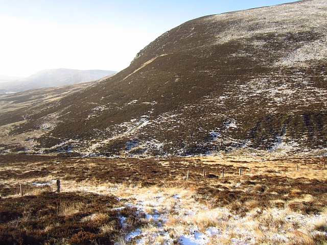 Fence on Sròn Meadhonach