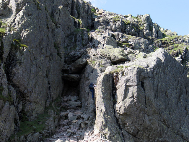 Crinkle Crags - The Bad Step