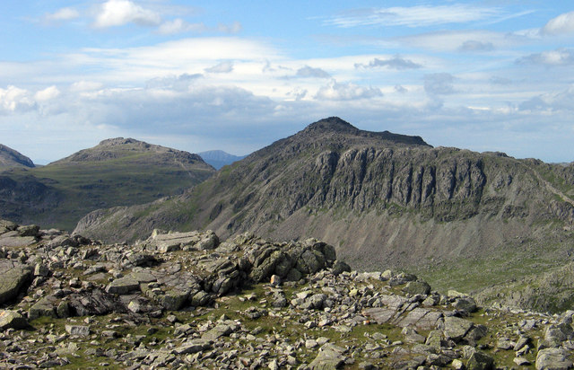Rocks at summit of Long Top
