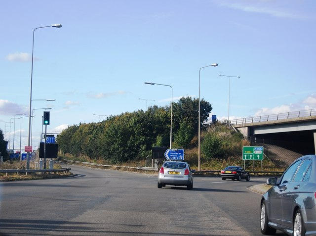 M25 / A12 junction