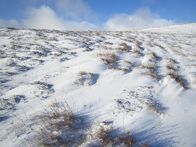 Moorland on Tom Dubh na Cabair