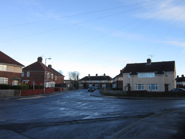 12th Avenue at 8th Avenue, North Hull Estate, Hull