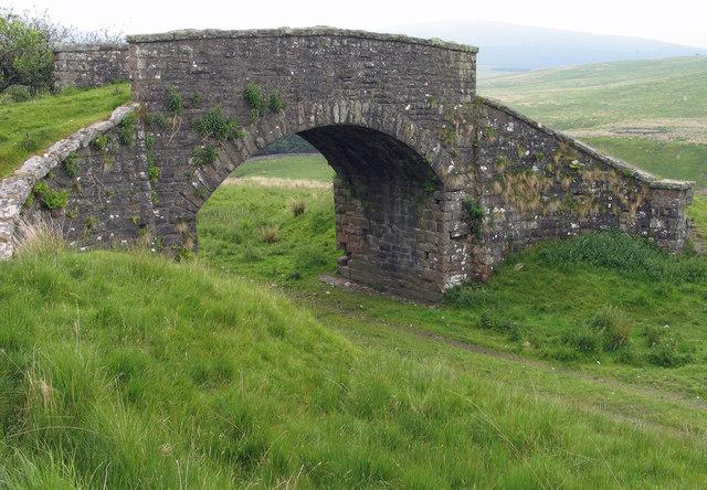 Bridge over route of Border Counties Railway