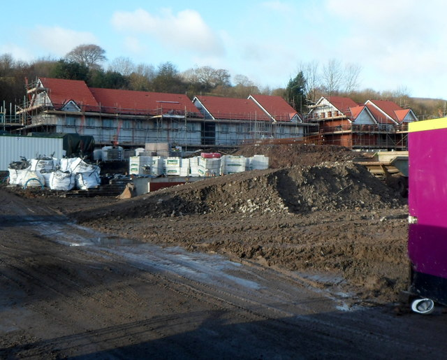 House construction, Cae Nant, Cwmbran