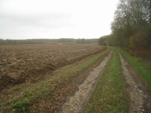 Farm track to Rookery Farm