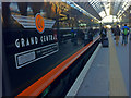 TQ3083 : Grand Central train on platform 7 by Steve  Fareham