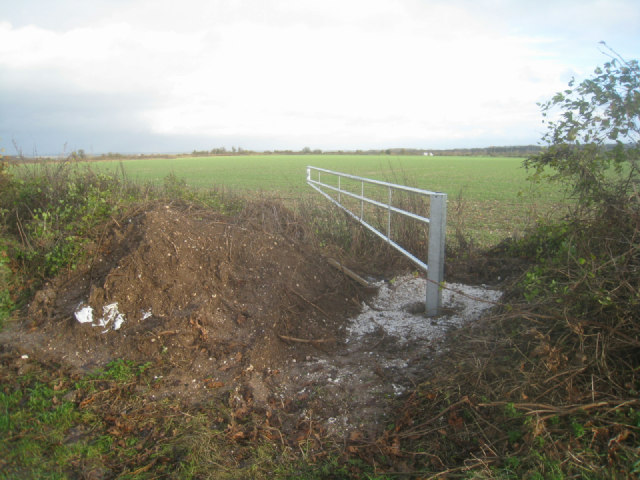 Installing a new farm gate
