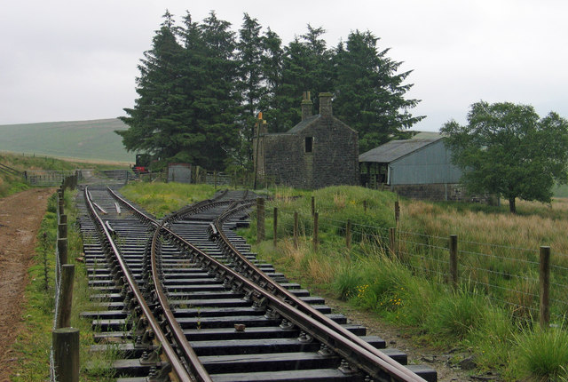 Building at Saughtree Railway Station