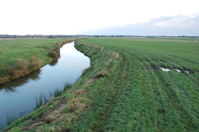 Drain near Appledore