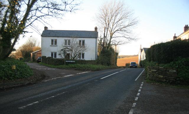 Horsepool Lane on the left