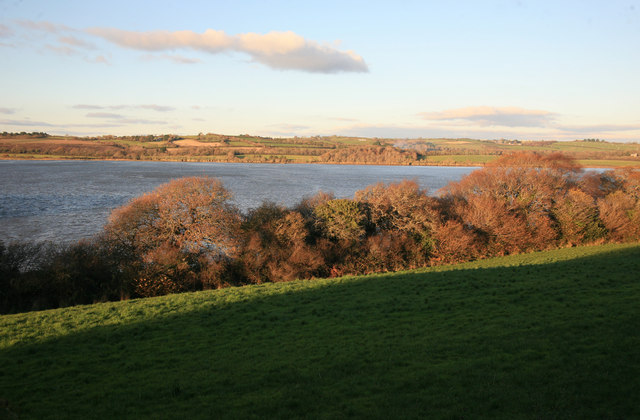 Looking across the Lynher or St Germans river