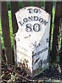 TL1896 : Old Milepost by Keith Evans