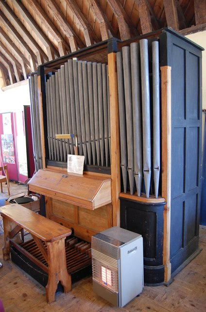 Organ, St Mary's church, Ruckinge