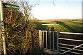 SP9328 : Footpath across the fields by Philip Jeffrey