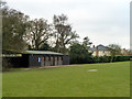 TL7706 : Pavilion, Little Baddow Sports Field by Robin Webster