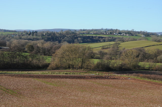 The Monnow valley and Grosmont