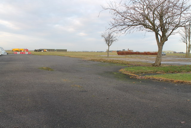 View of RAF Scampton