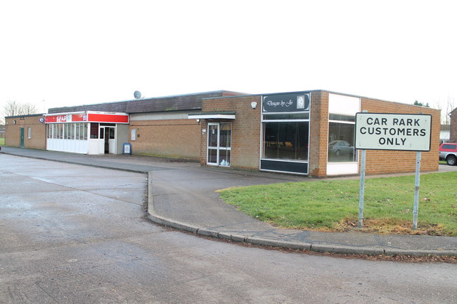 Shops near RAF Scampton