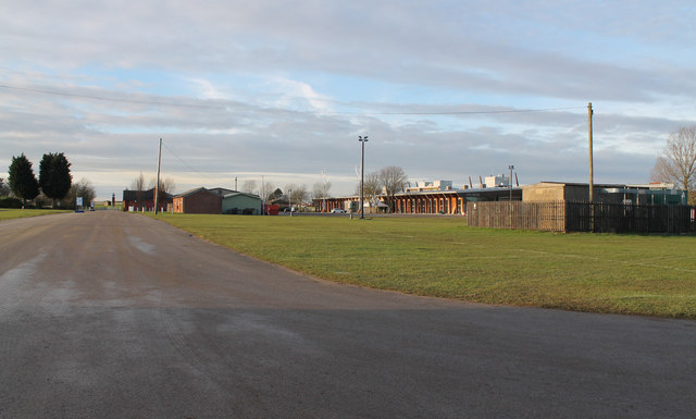 Lincolnshire Showground buildings