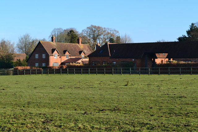Buildings at Manor Farm, East Worldham