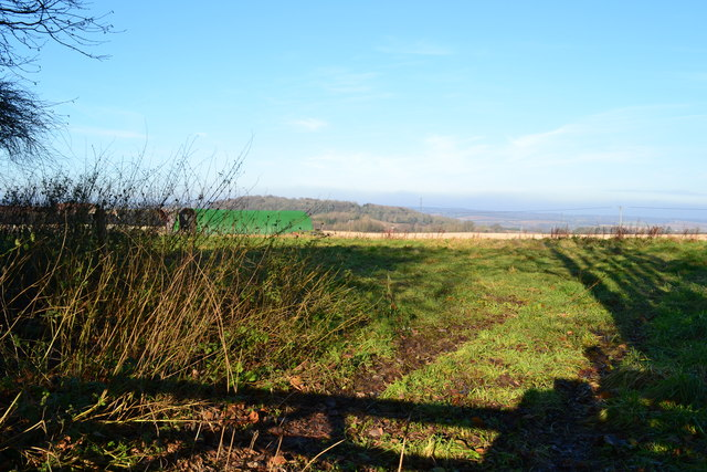 View across field at Old House Farm