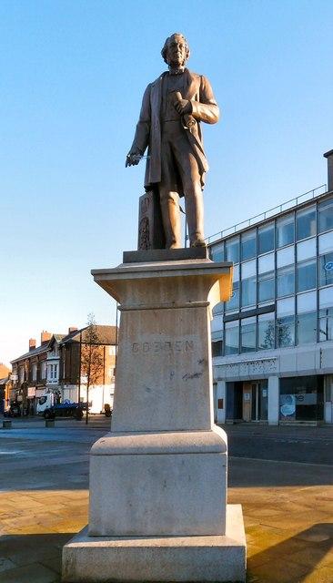 Cobden's statue