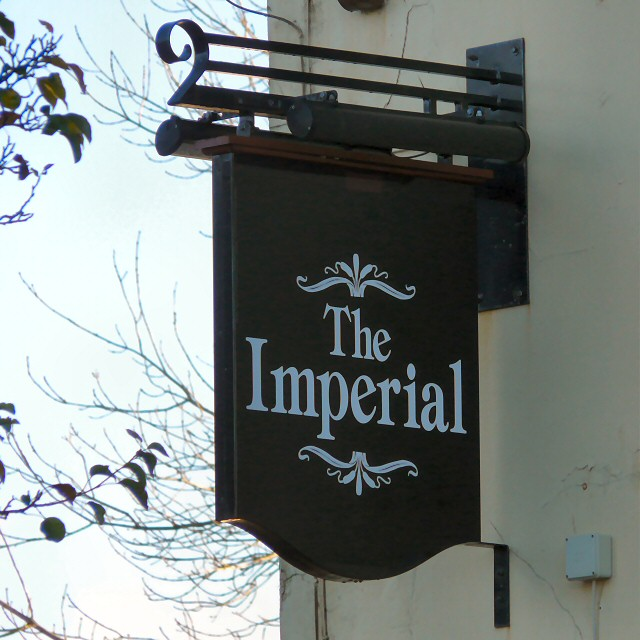 Sign of The Imperial
