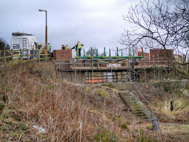 Nob End, The Meccano Bridge