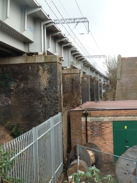 Railway viaduct, Selly Oak