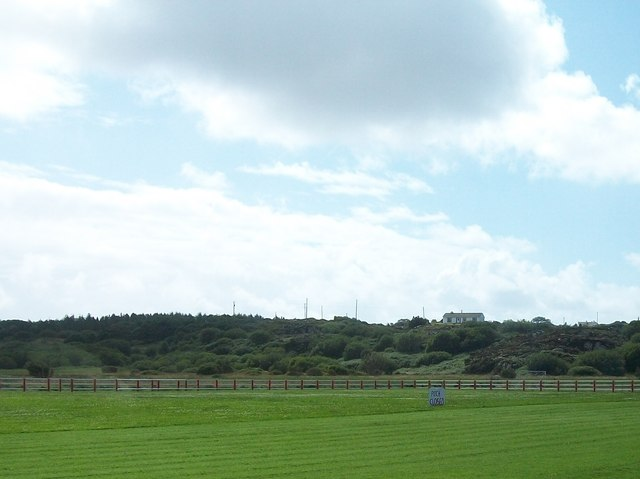 Pitch closed for the season - the hallowed turf of Keadue Rovers FC, Co Donegal