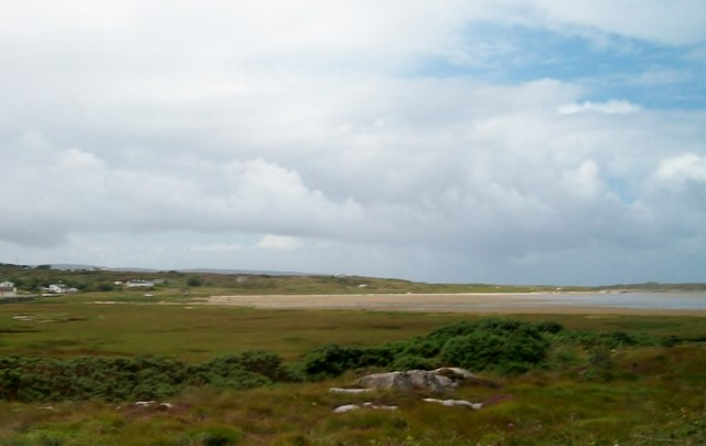 View west across the head of Keadew (Keadue) Strand