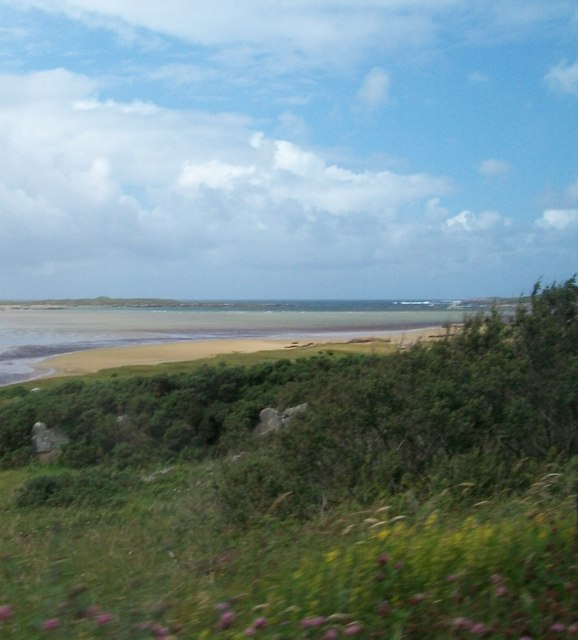 Keadue Bay from the R259