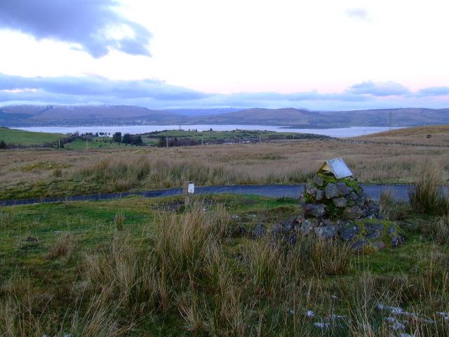 Cairn on Darndaff Moor