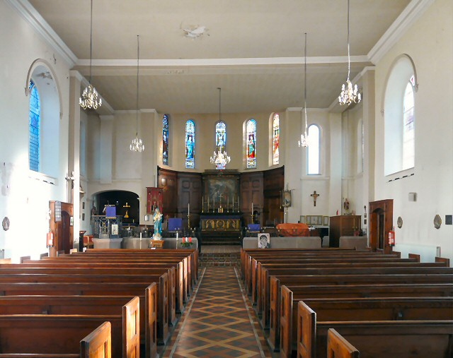 Inside St Peter's Church