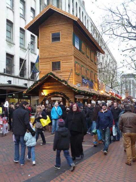 German Xmas Market, Birmingham
